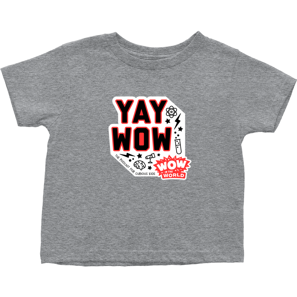 YAY WOW Toddler Tee